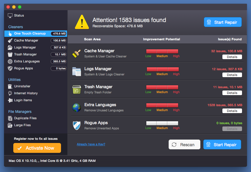 Smart Mac Care unwanted application