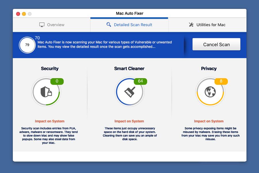Mac Auto FIxer unwanted application